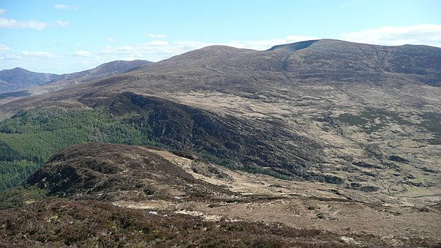 Panorama from Torc Mountain (5) - geograph.org.uk - 777032