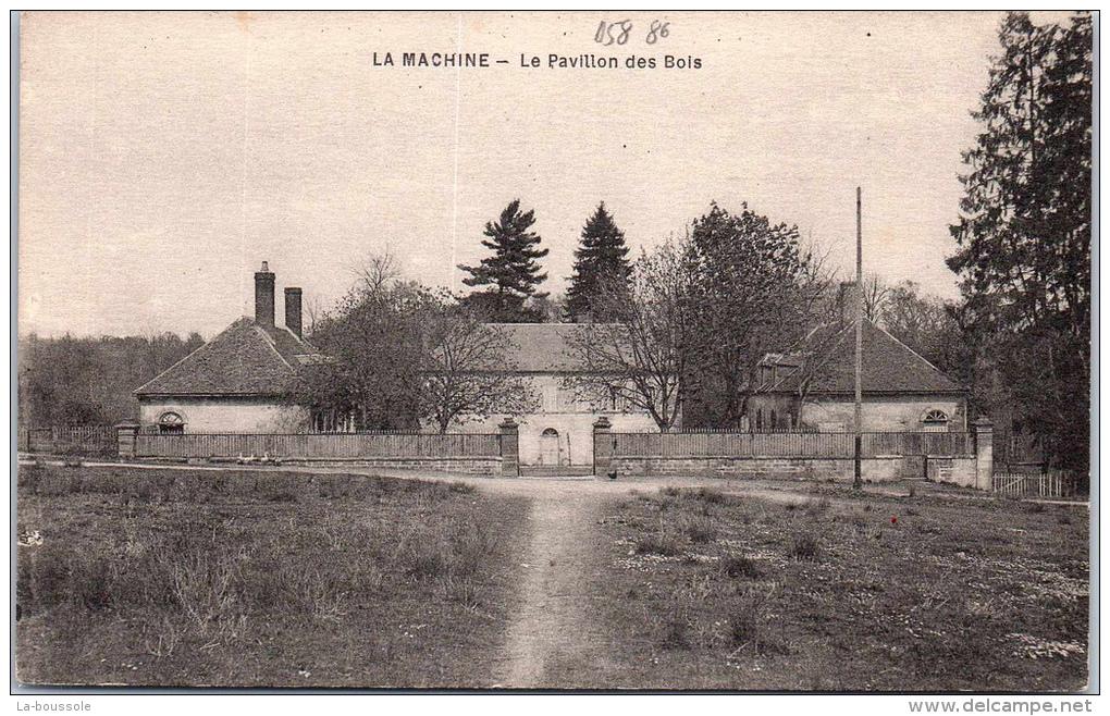 Pavillon des Bois (Nièvre) — Wikipédia ~ Pavillon Du Bois