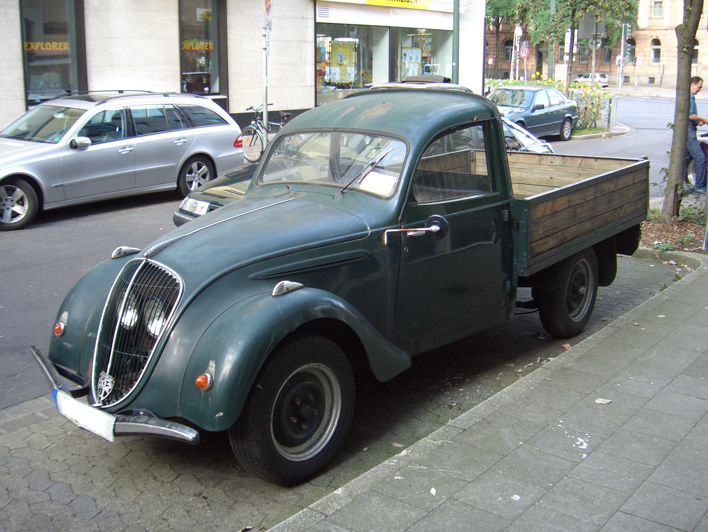 File Peugeot 202 Pickup 1938 1940 Frontleft 2008 08 06 U