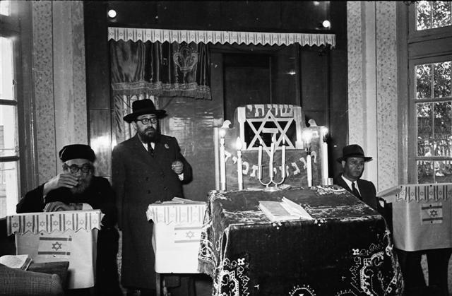ראש העיר לוד והרבנים הראשונים
