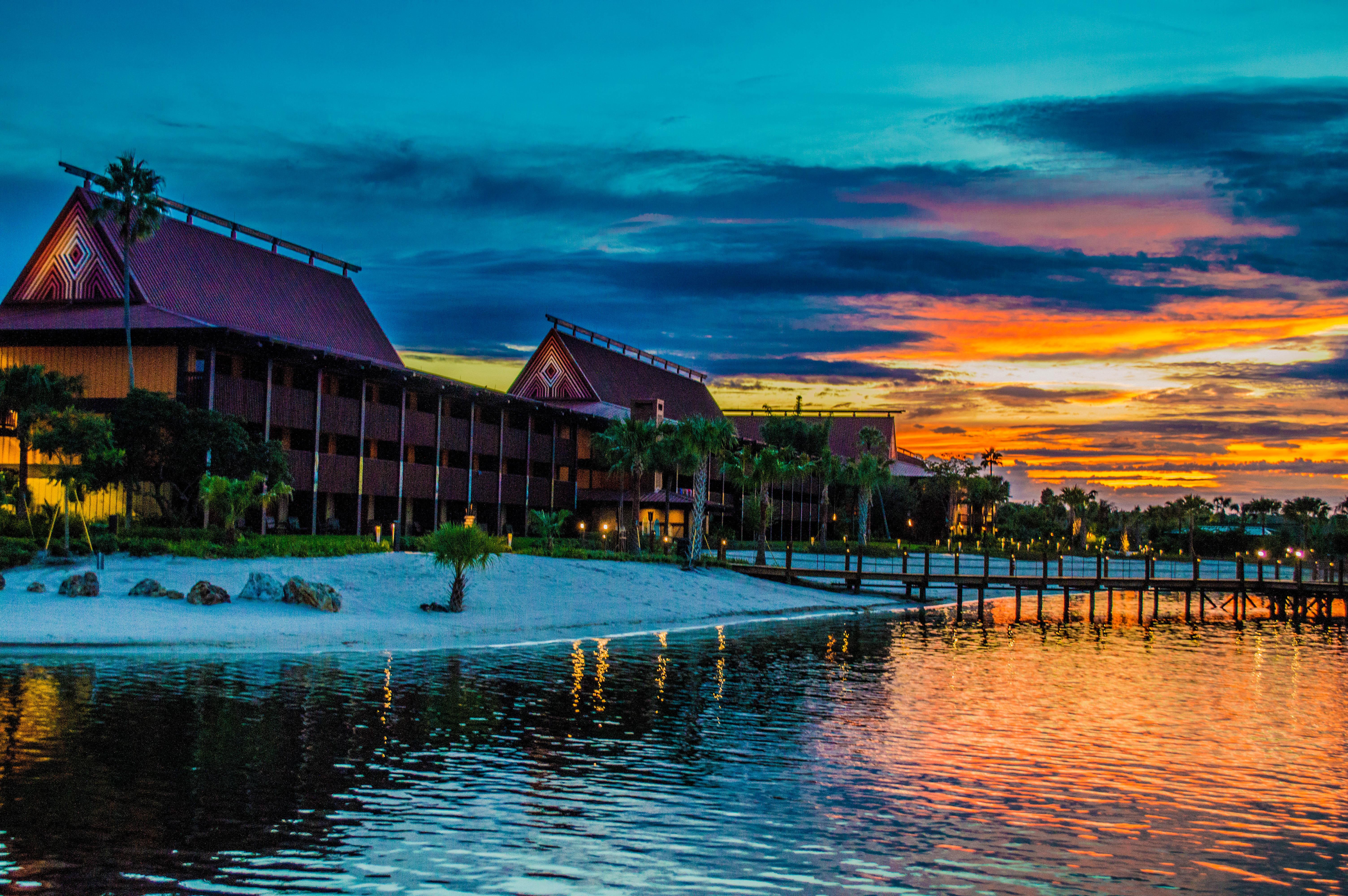 Disney done right top ten resort lobbies Sunset lodge