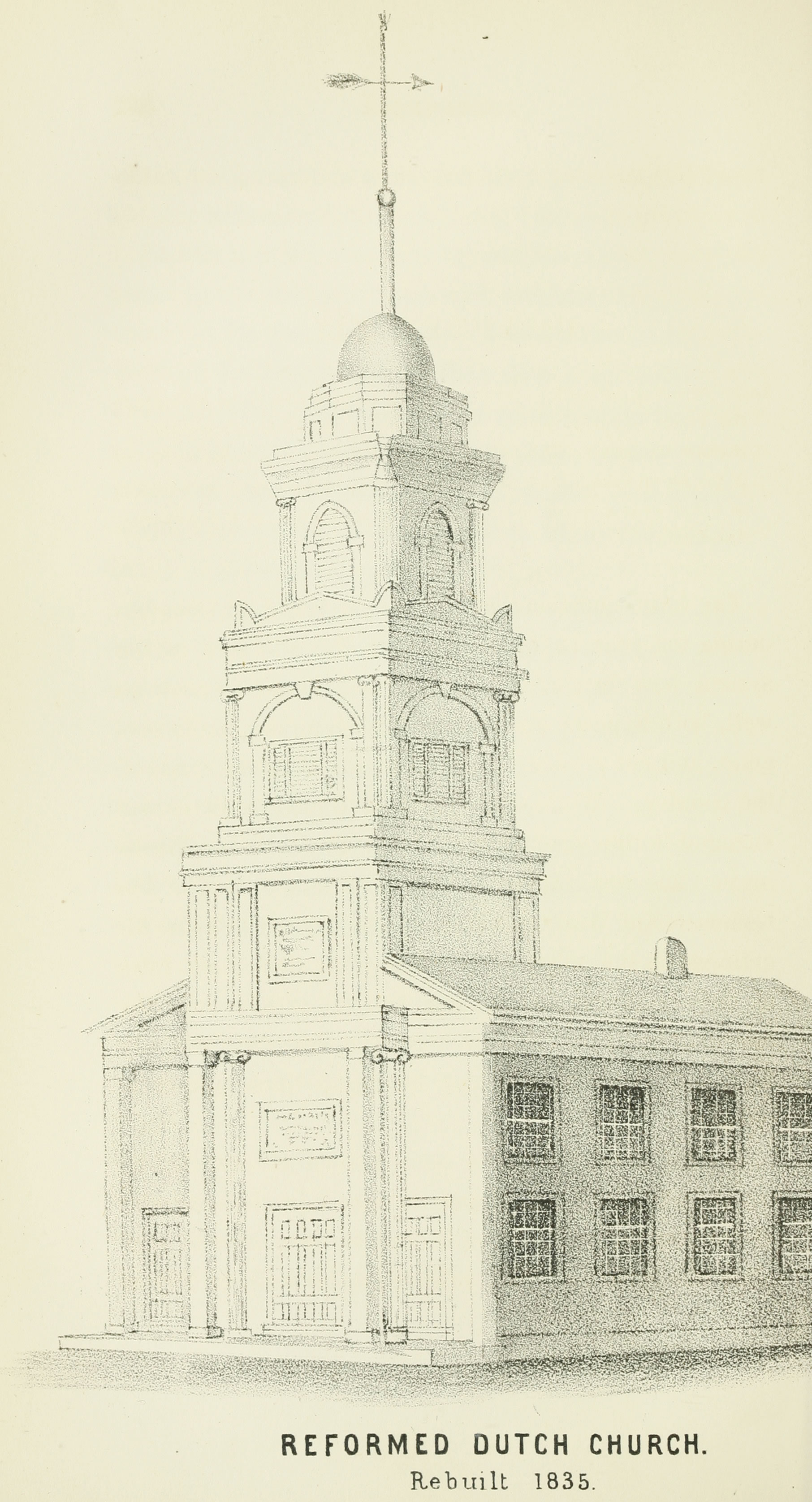 FilePrattsville Reformed Dutch Church Drawing With Caption