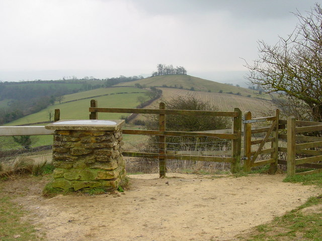 Prospect Stile on The Cotswold Way - geograph.org.uk - 128508