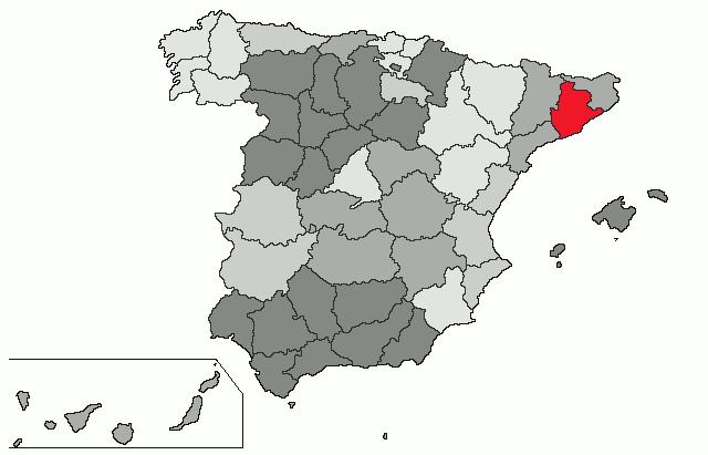 mapa de espanha barcelona Barcelona (província) – Wikipédia, a enciclopédia livre mapa de espanha barcelona