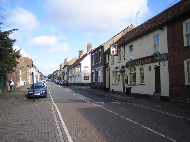 Redbourn, The High Street - geograph.org.uk - 142288
