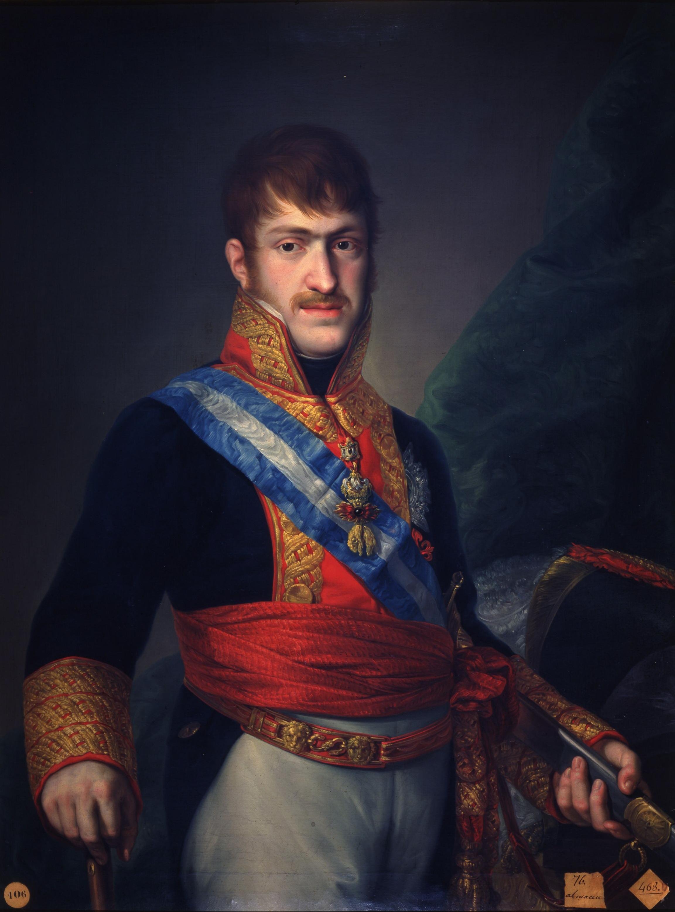 File retrato del infante carlos mar a isidro de borb n - Carlos maria ...