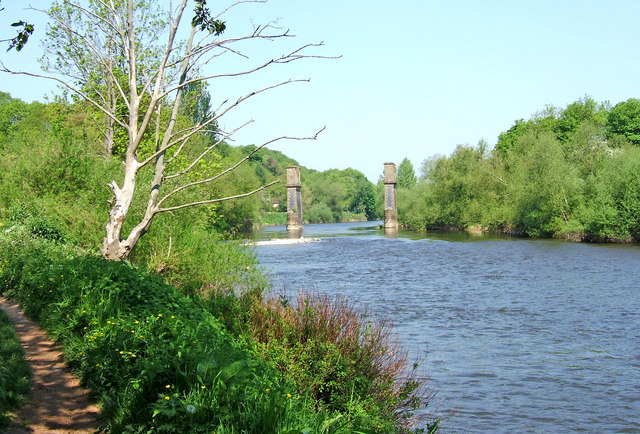 River Severn looking north - geograph.org.uk - 869485