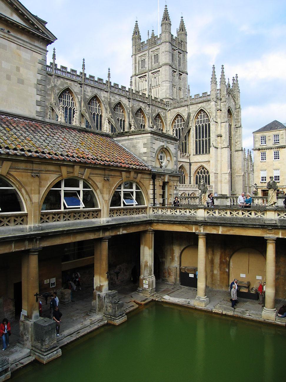 roman bathes bath england
