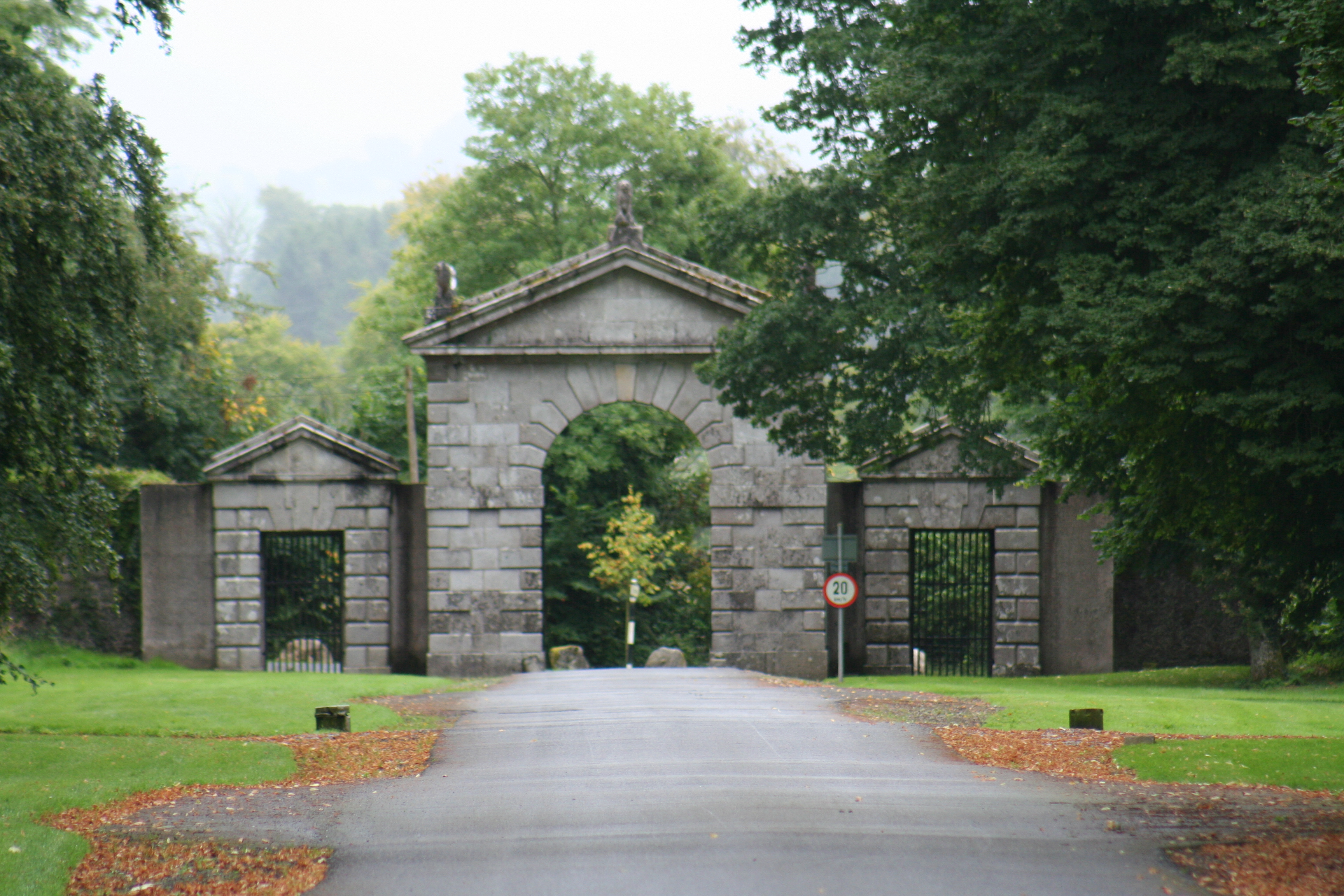File:Russborough house entrance.jpg - Wikimedia Commons