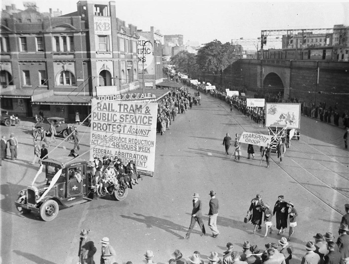 Street protest march (Ontario condo law blog post)