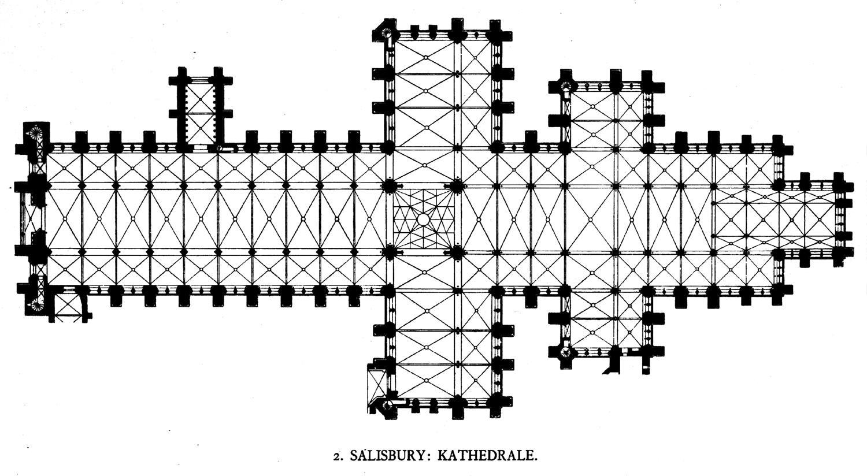 File Salisbury Cathedral Plan Jpg Wikipedia