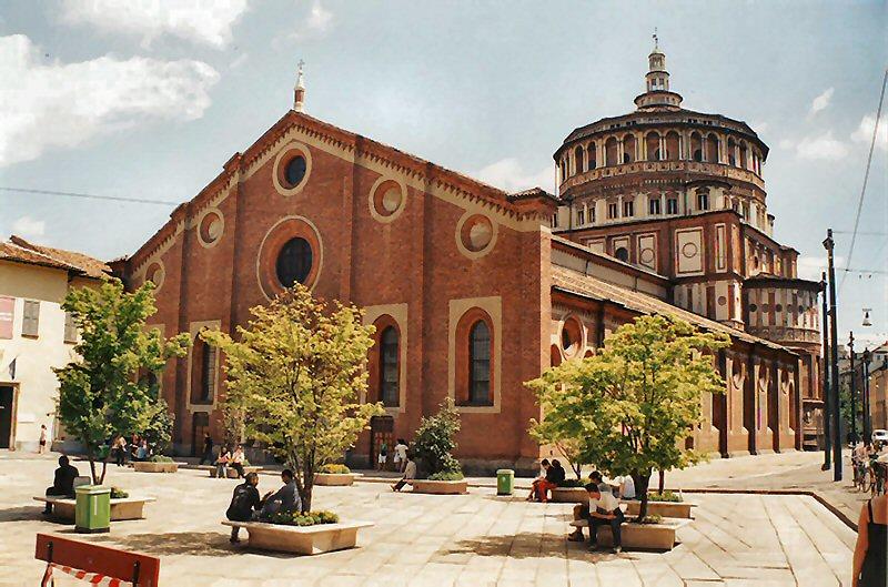 монастырь Санта-Мария-делла-Грацие