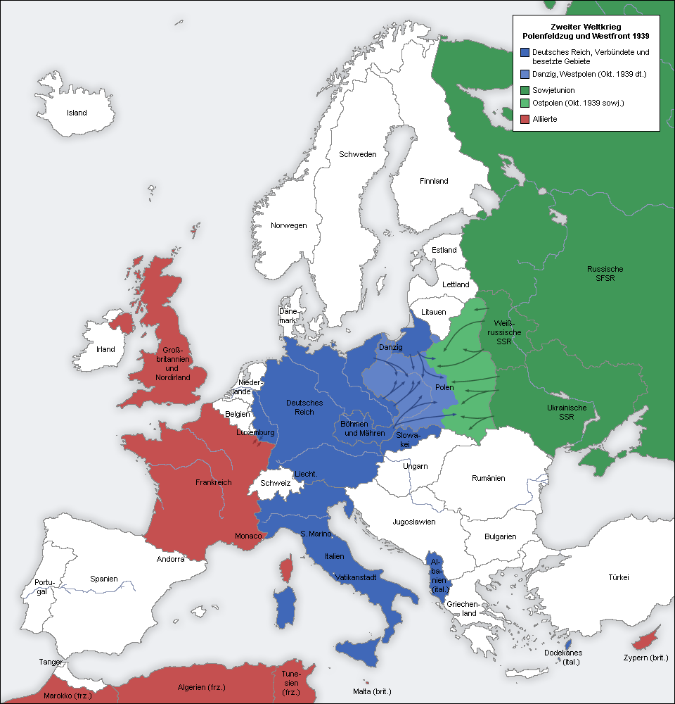 1939 地图