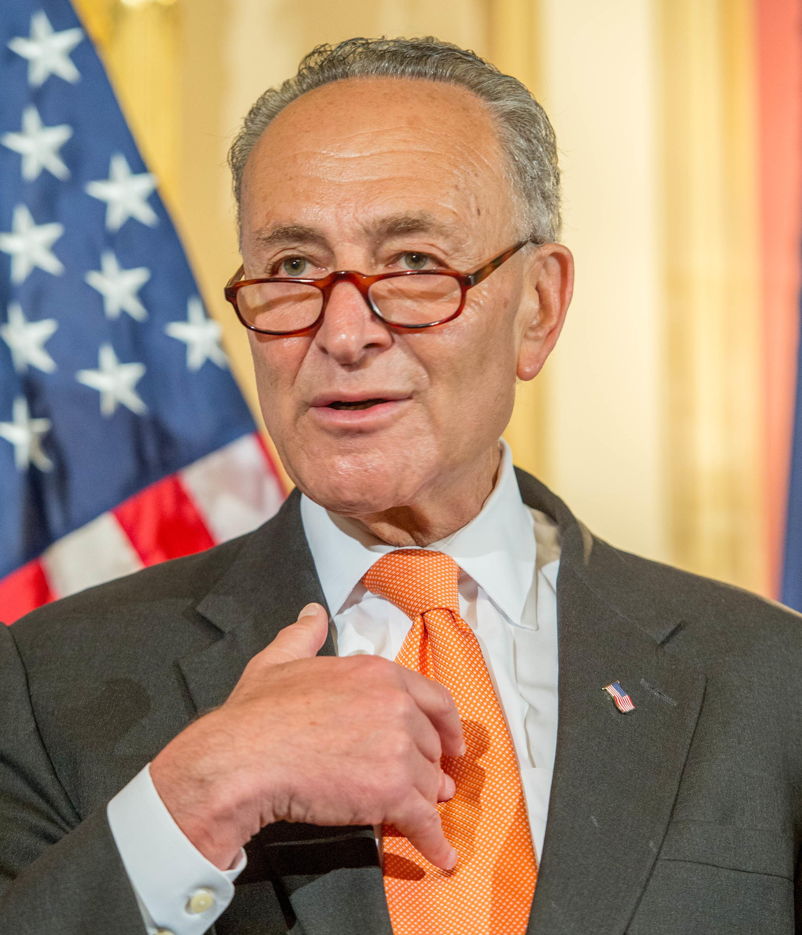 Senator Chuck Schumer (cropped)