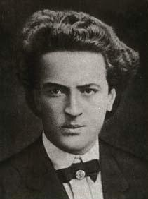 Greek poet Angelos Sikelianos (1884-1951).