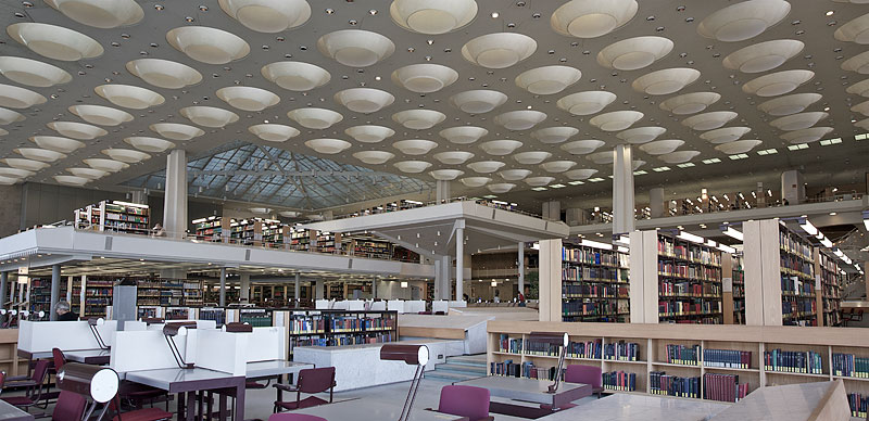 Staatsbibliothek am Kulturforum in Tiergarten