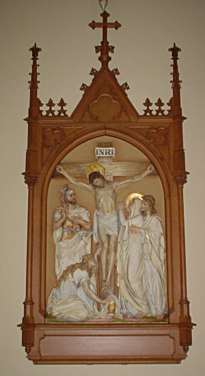 The 12th Station of the Cross - Jesus dies on ...