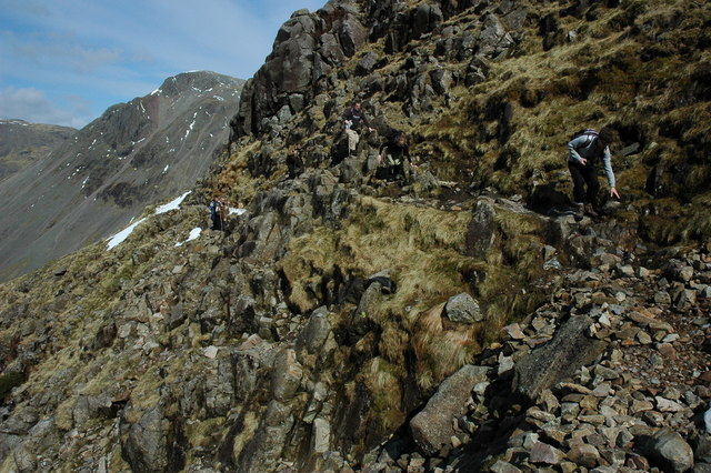 The Corridor Route, Scafell Pike - geograph.org.uk - 1801804