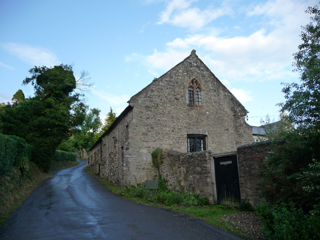 The Tithe Barn and Tithe Barn Cottage, Selworthy - geograph.org.uk - 1710812