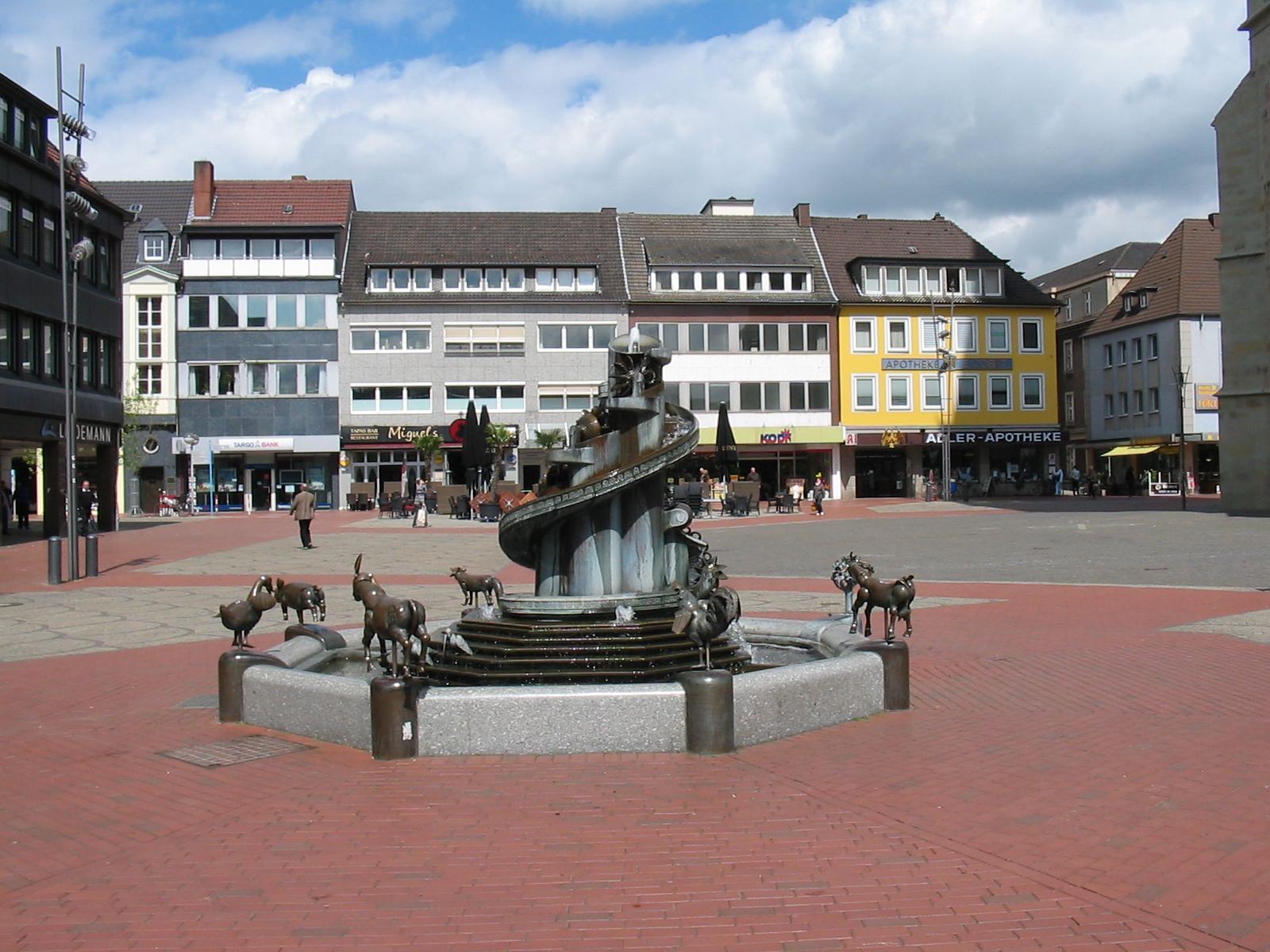 hamm marktplatz