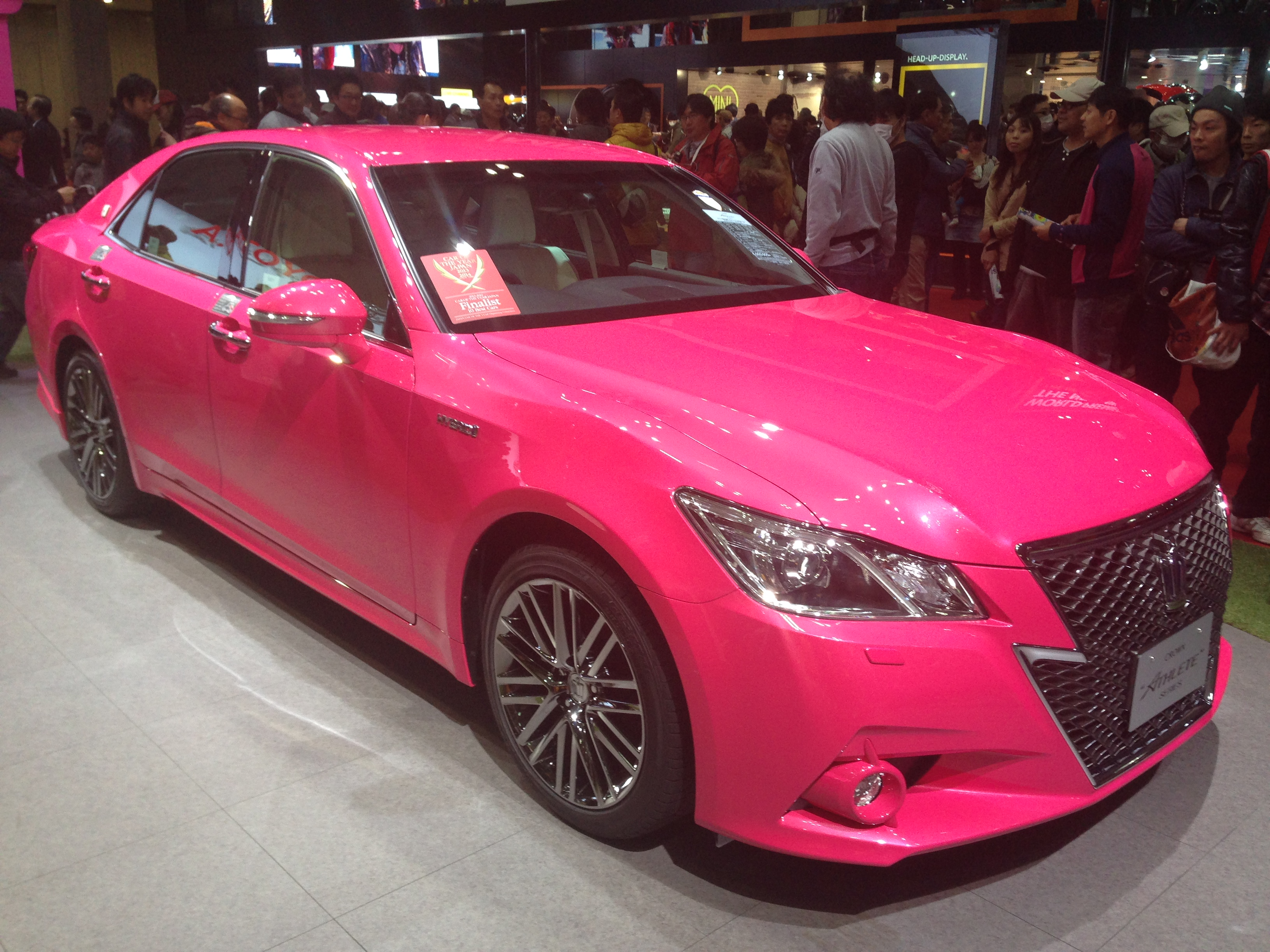 File Toyota Crown Hybrid Athlete G Reborn Pink Edition