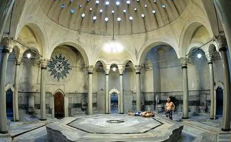 Typical setting of Turkish Bath or Hammam in Cairo