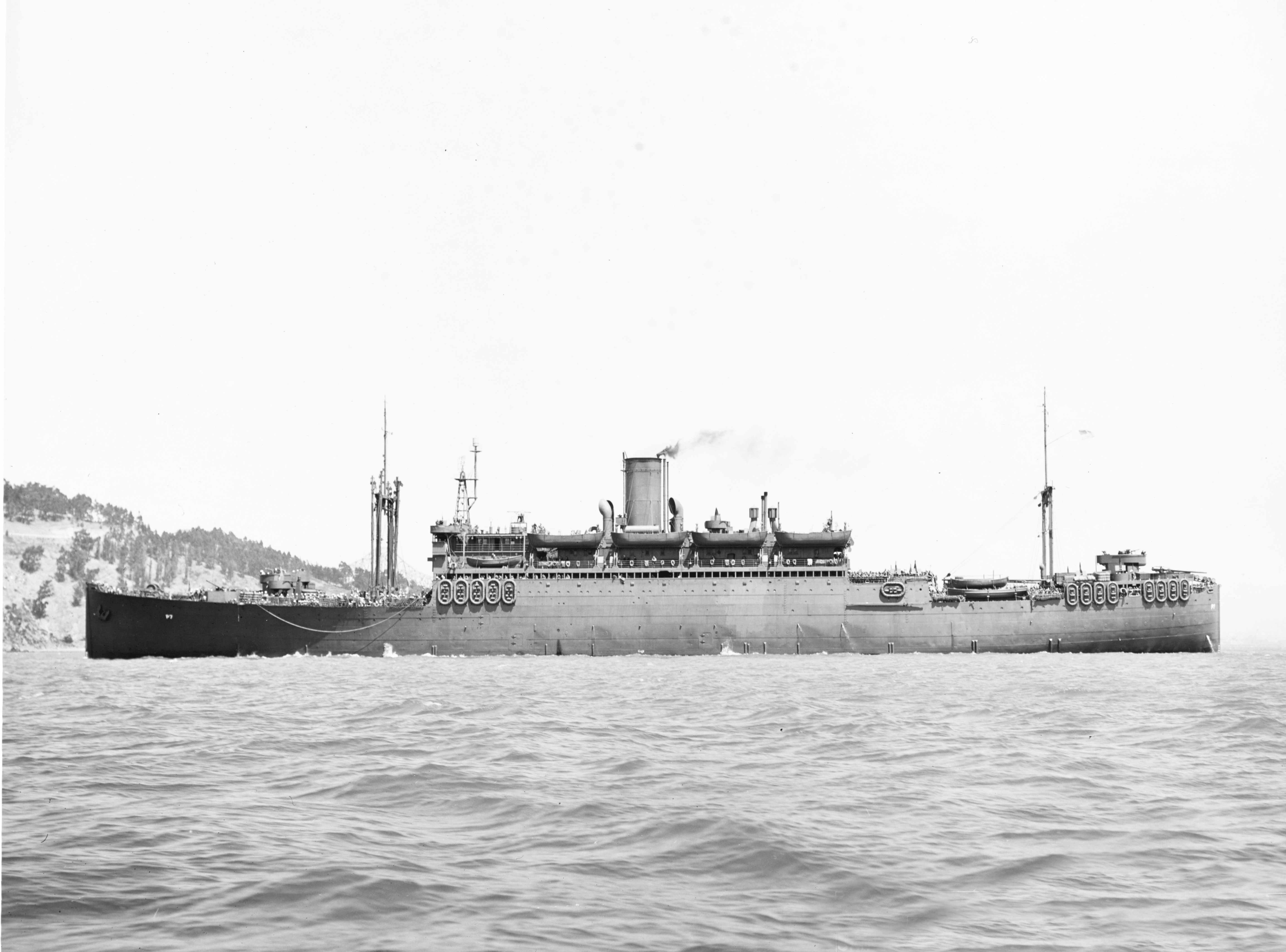 USS Wharton c. 1941