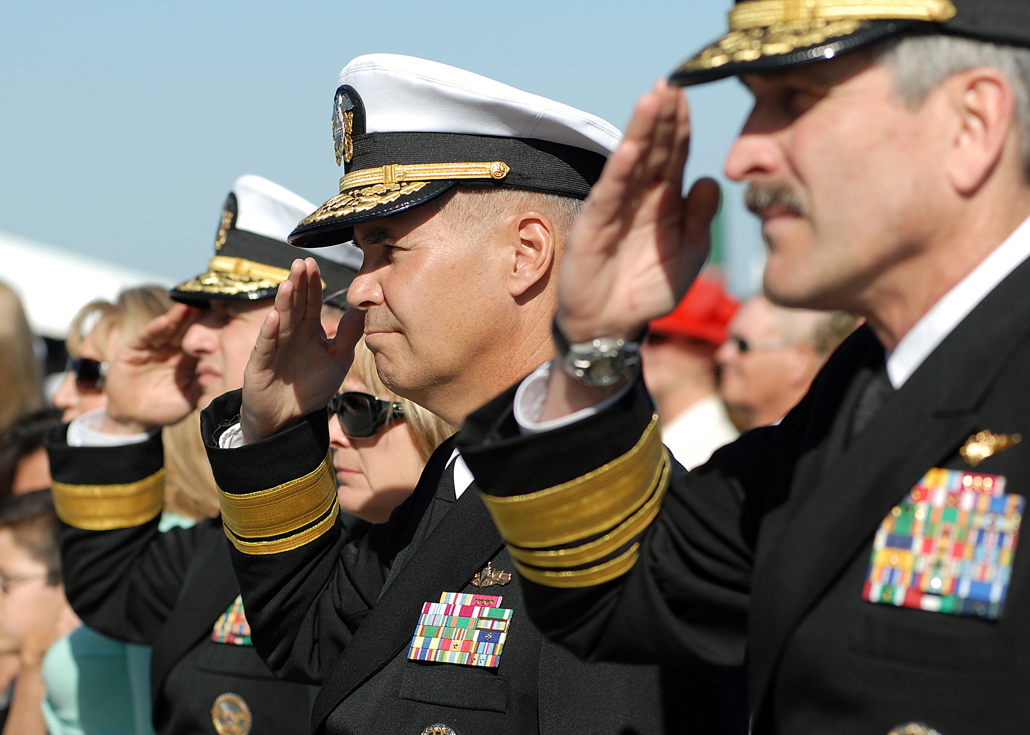 File:US Navy 070323-N-4565G-007 Navy Flag officers salute ...