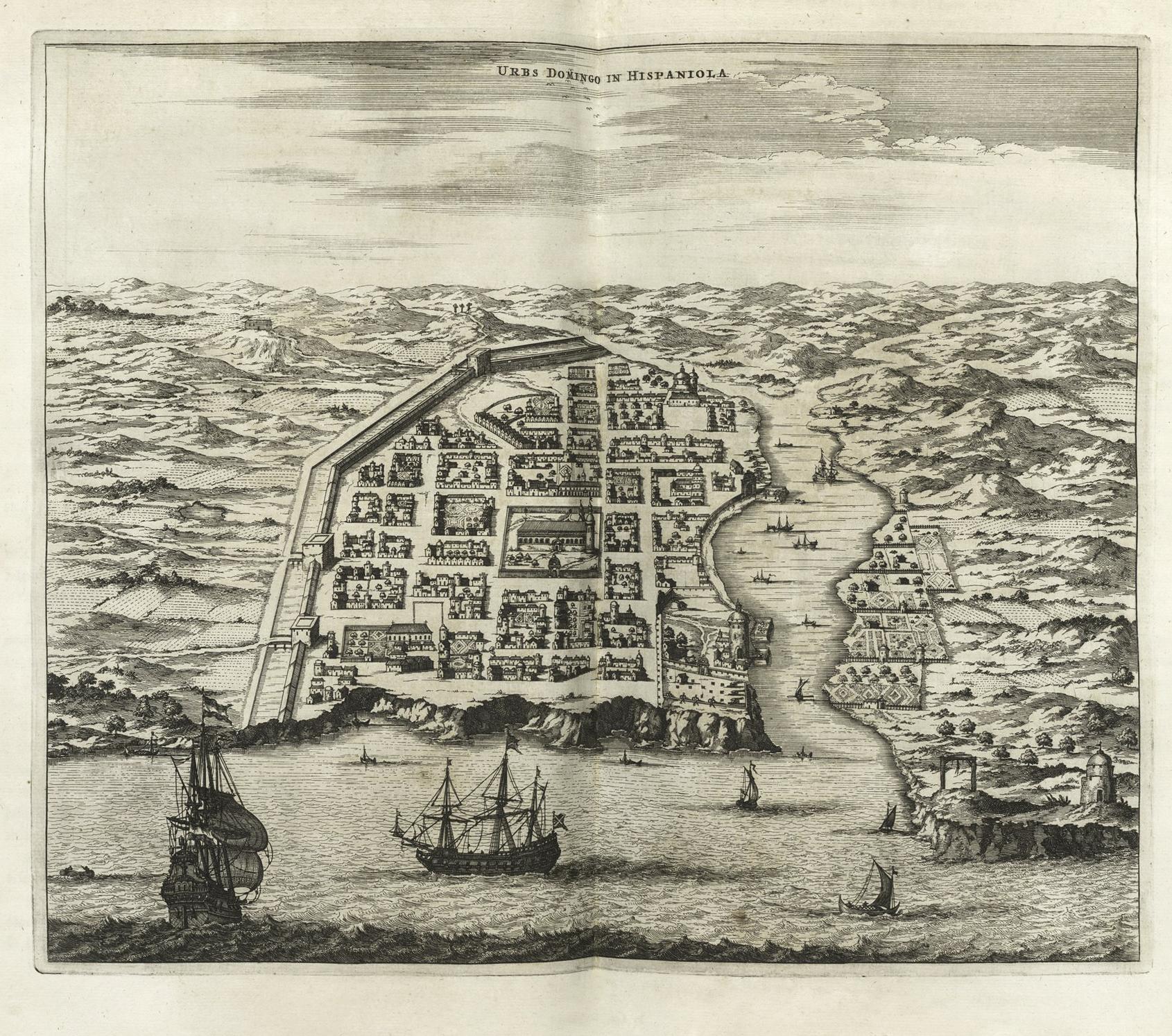 FileUrbs Domingo in Hispaniola Montanus 1671jpg Wikimedia