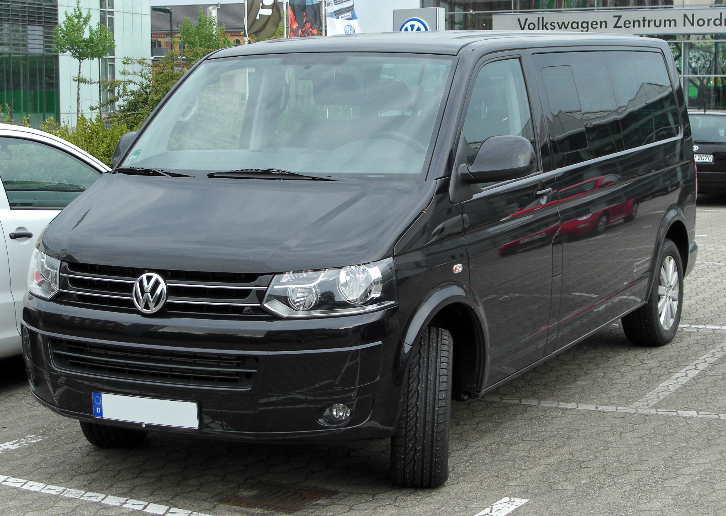 fil vw caravelle tdi t5 facelift front. Black Bedroom Furniture Sets. Home Design Ideas