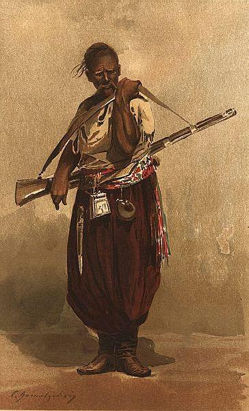 Depiction of Cosacos de Zaporozhia