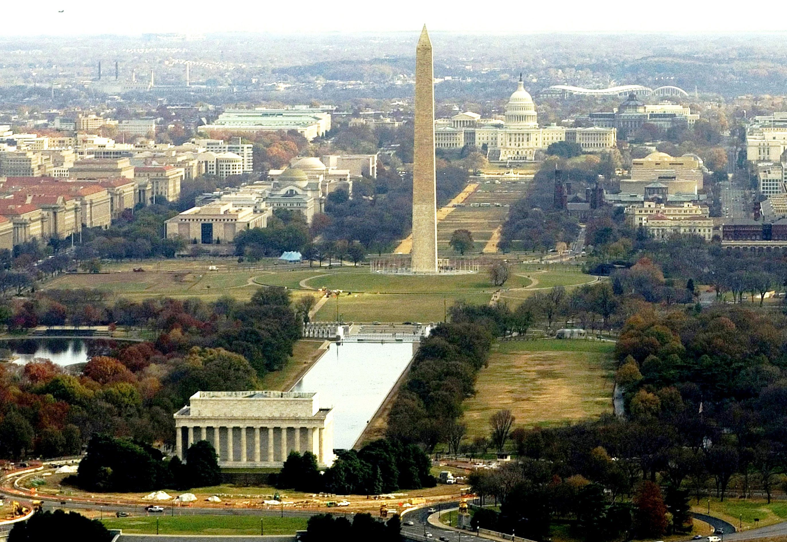 National Mall Wikipedia - Washington dc area map pdf