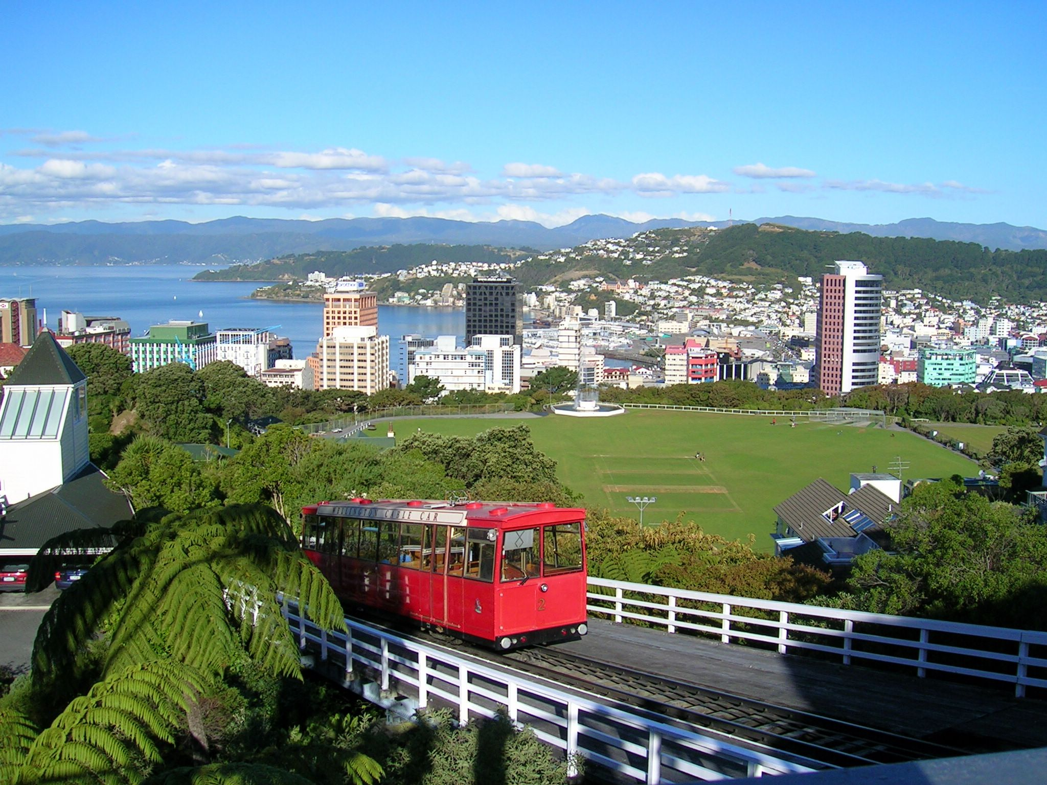 Wellington Cable Car: File:Wellington NZ-cablecar-topview.jpg