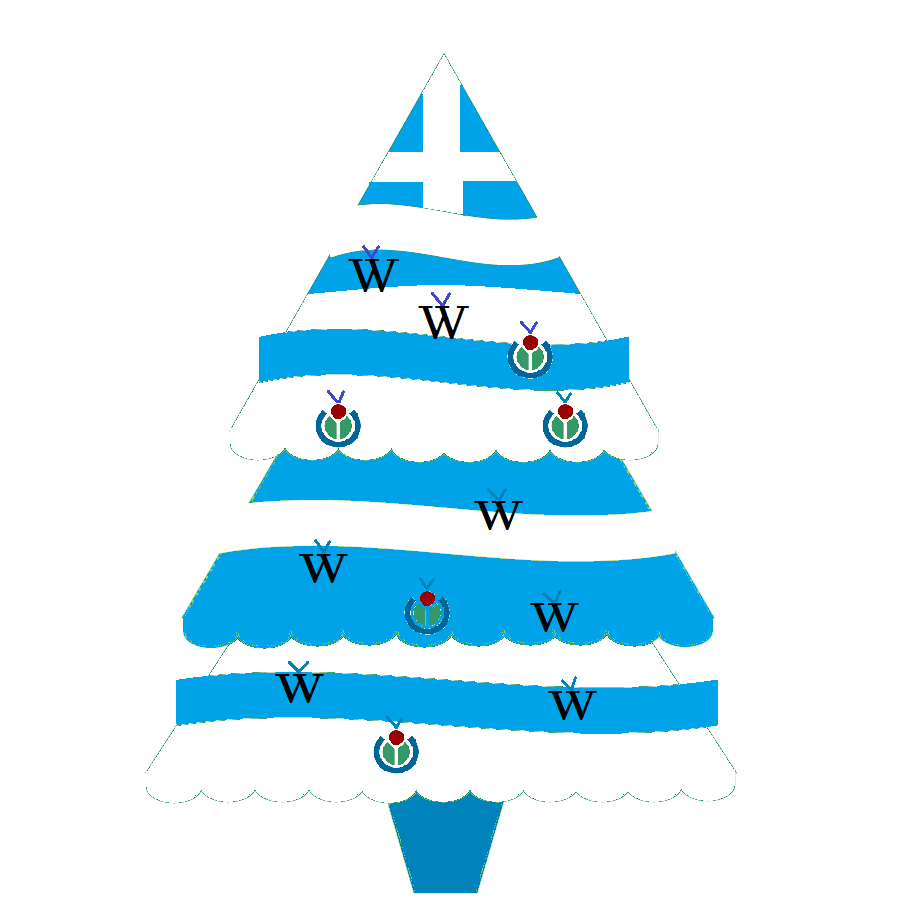 filewiki christmas tree at greek flagpng