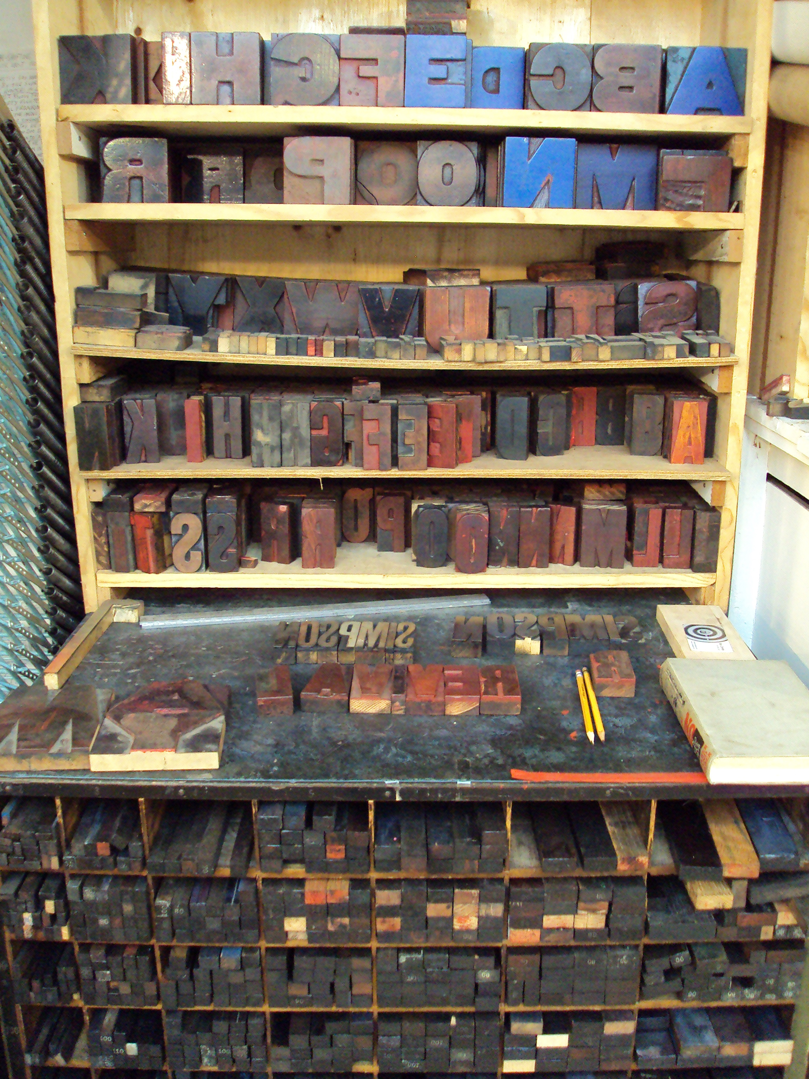 File:Wood Letterpress Type And Furniture