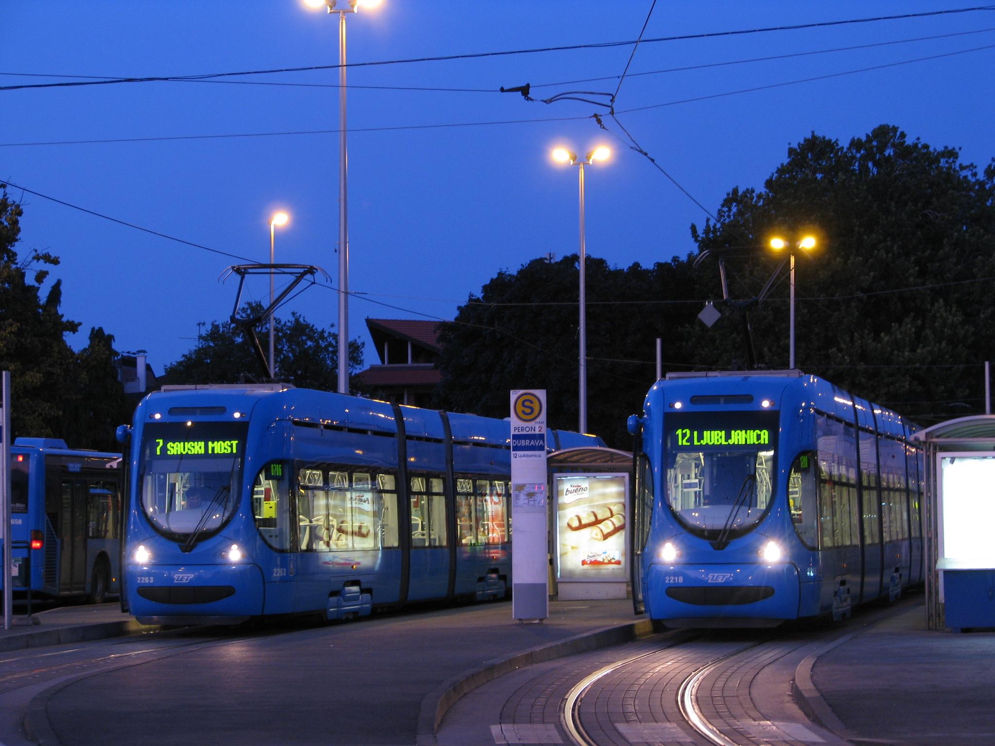 Trams In Zagreb Wikipedia