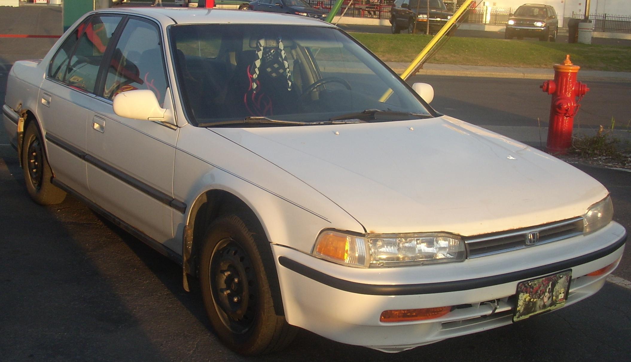 File92 93 Honda Accord EX Sedan Orange Julep