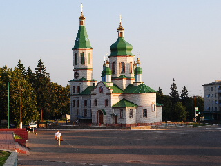 Tetiiv city in Kyiv Oblast, Ukraine