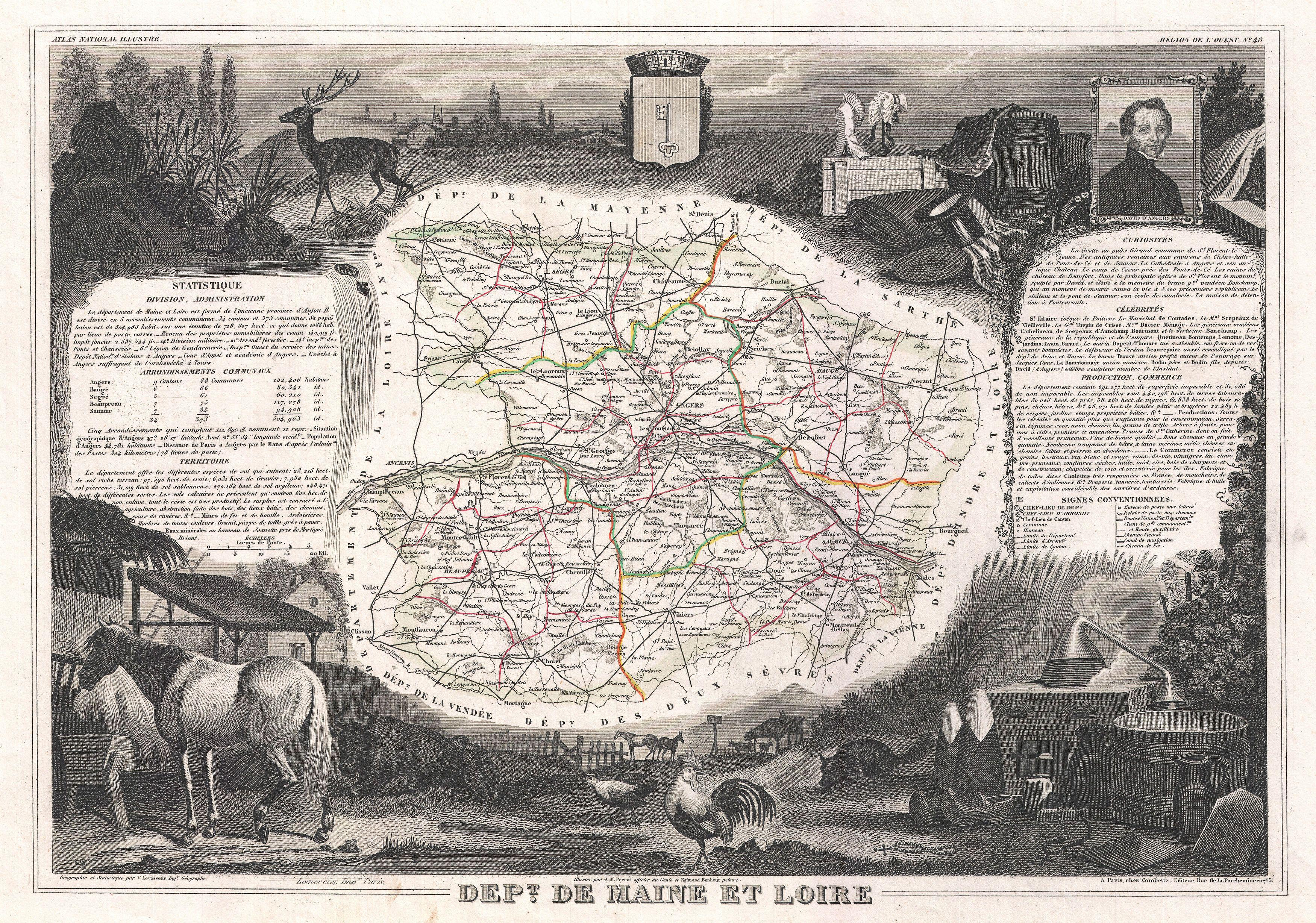 Image Result For Loire Valley Wine Map
