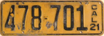 1921 California license plate 478-701.jpg