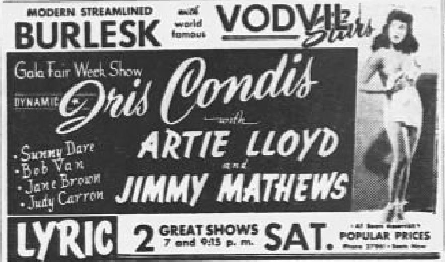 File1951 Lyric Theater 20 Sepr Mc Allentown Pa Jpg