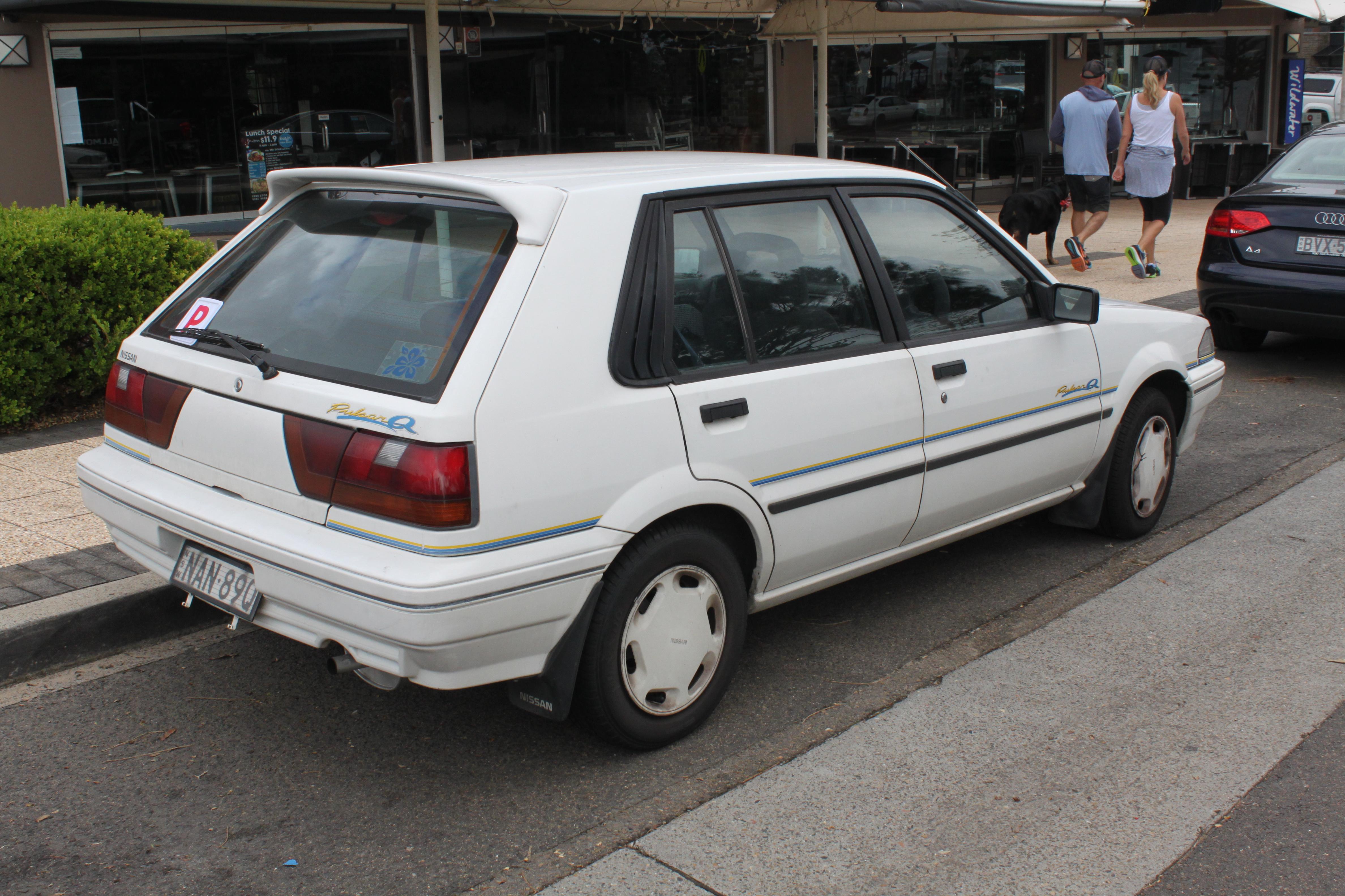 File 1989 Nissan Pulsar N13 S2 Q 5 Door Hatchback