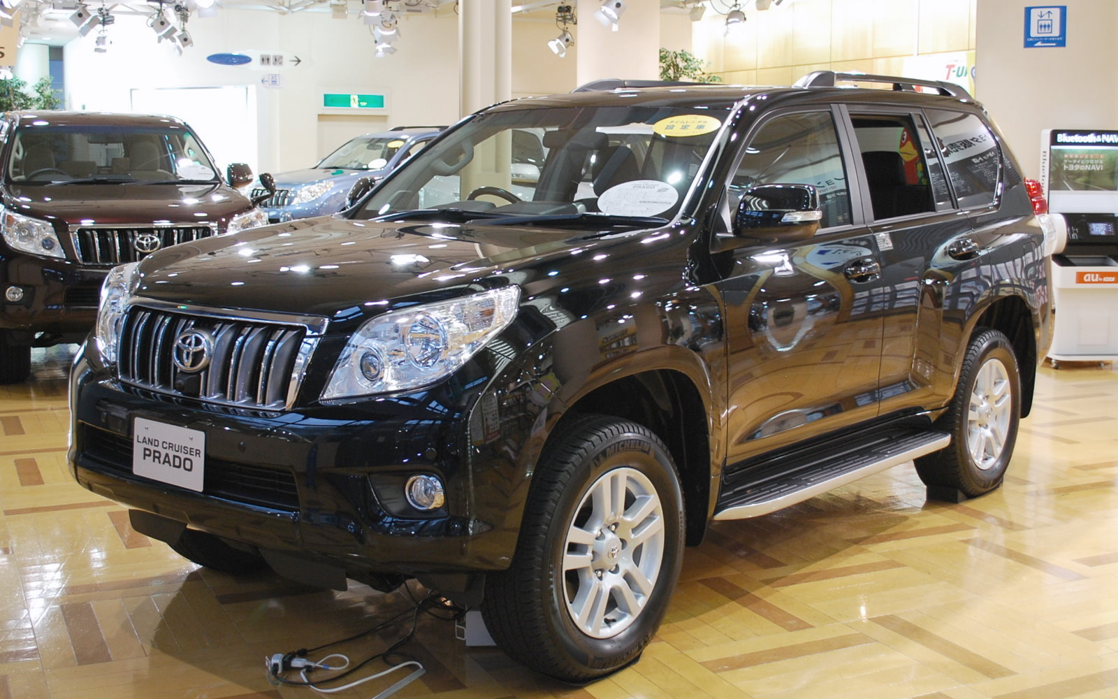 File 2009 Toyota Land Cruiser Prado 01 Jpg Wikimedia Commons