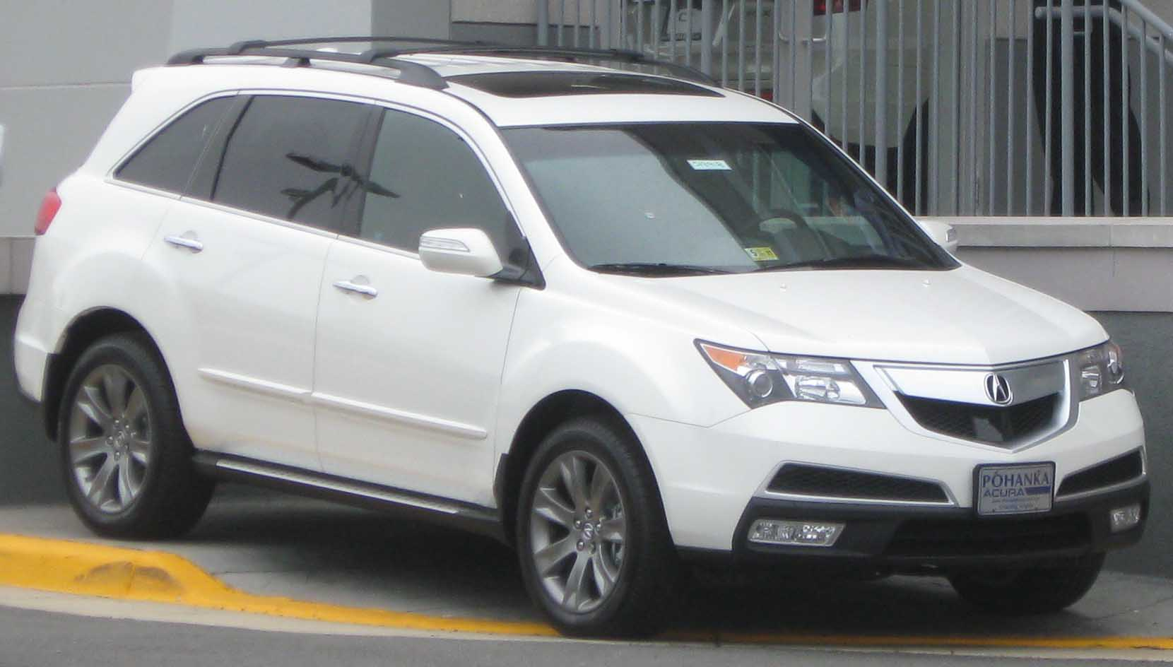 File:2010 Acura MDX -- 06-16-2010.jpg - Wikimedia Commons