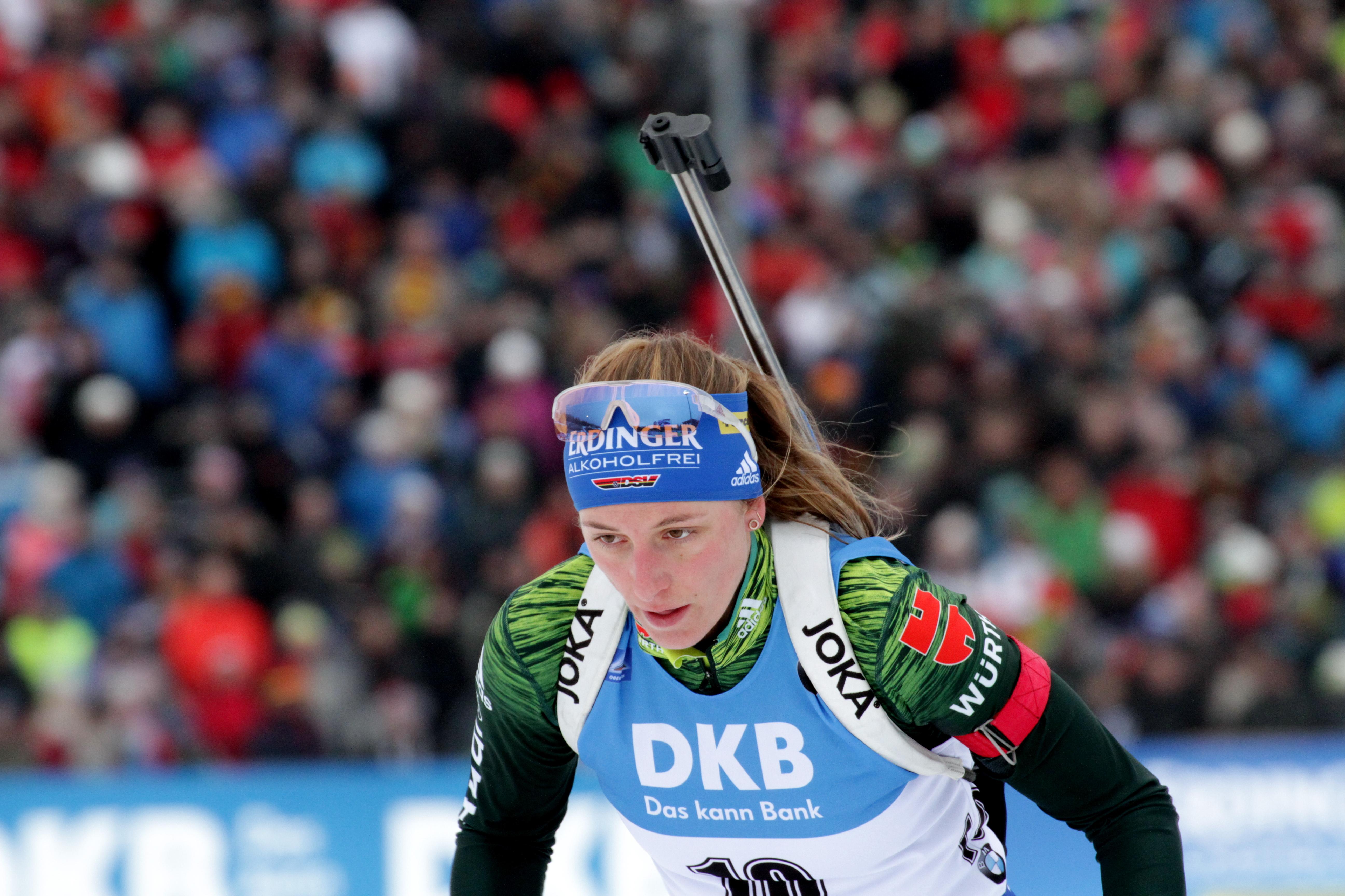 tyska skidskytte damer 2017