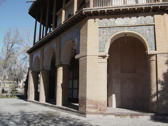 کاخ کوشک عالی قاپو کاخ زیبا معماری ایرانی معماری اسلامی معماری عثمانی