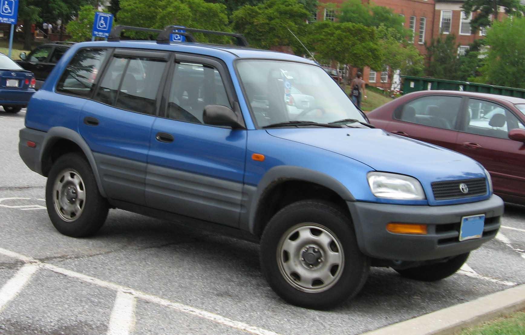 1998 Rav4 Custom >> File:96-97 Toyota RAV4.jpg - Wikimedia Commons