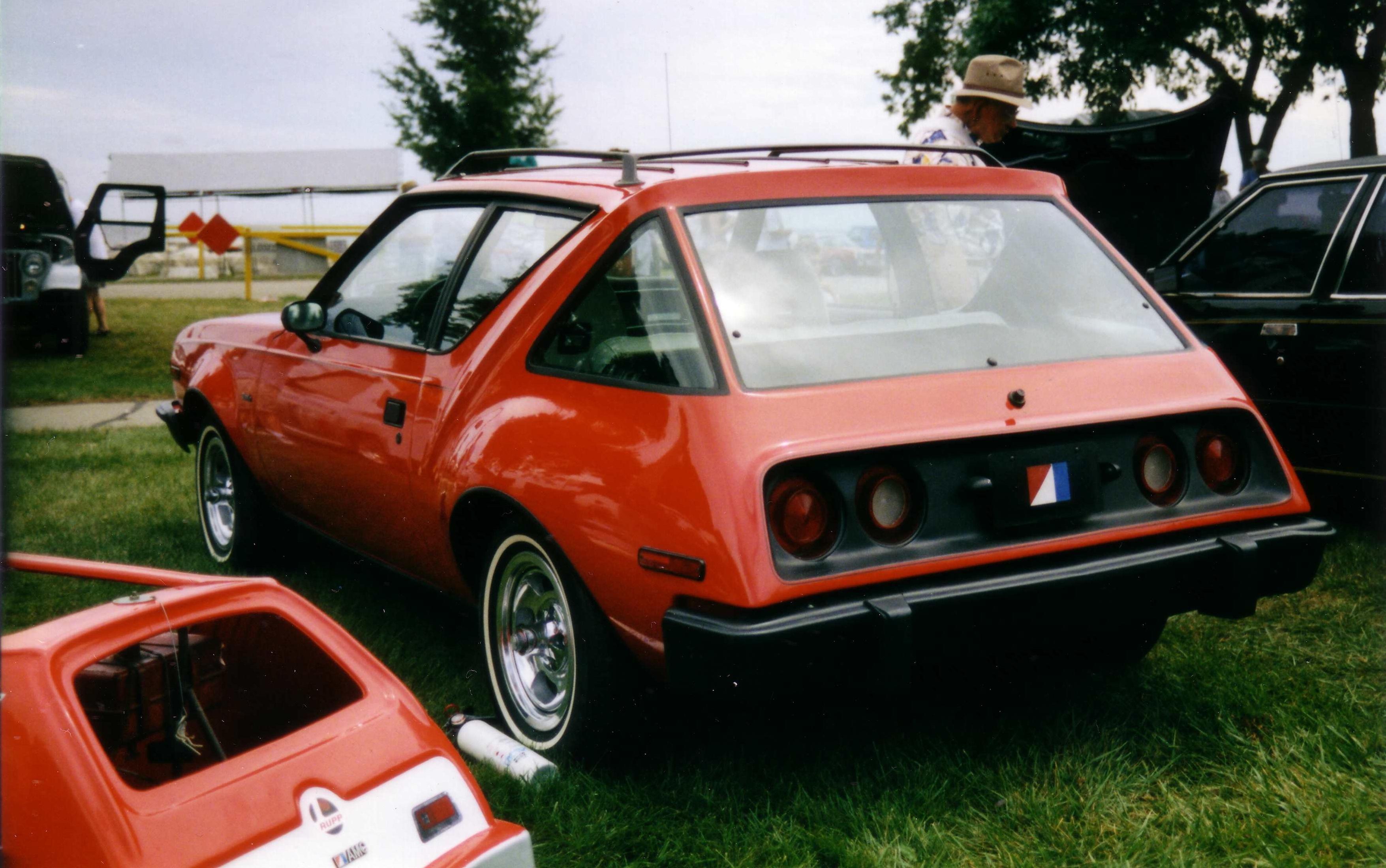 Description AMC Gremlin XP 1974 concept car Kenosha Show jpgGremlin Car