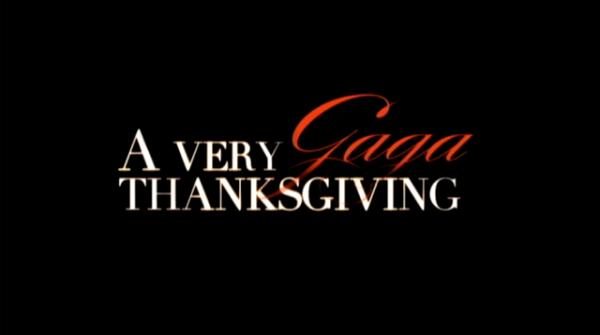 A Very Gaga Thanksgiving Wikipedia