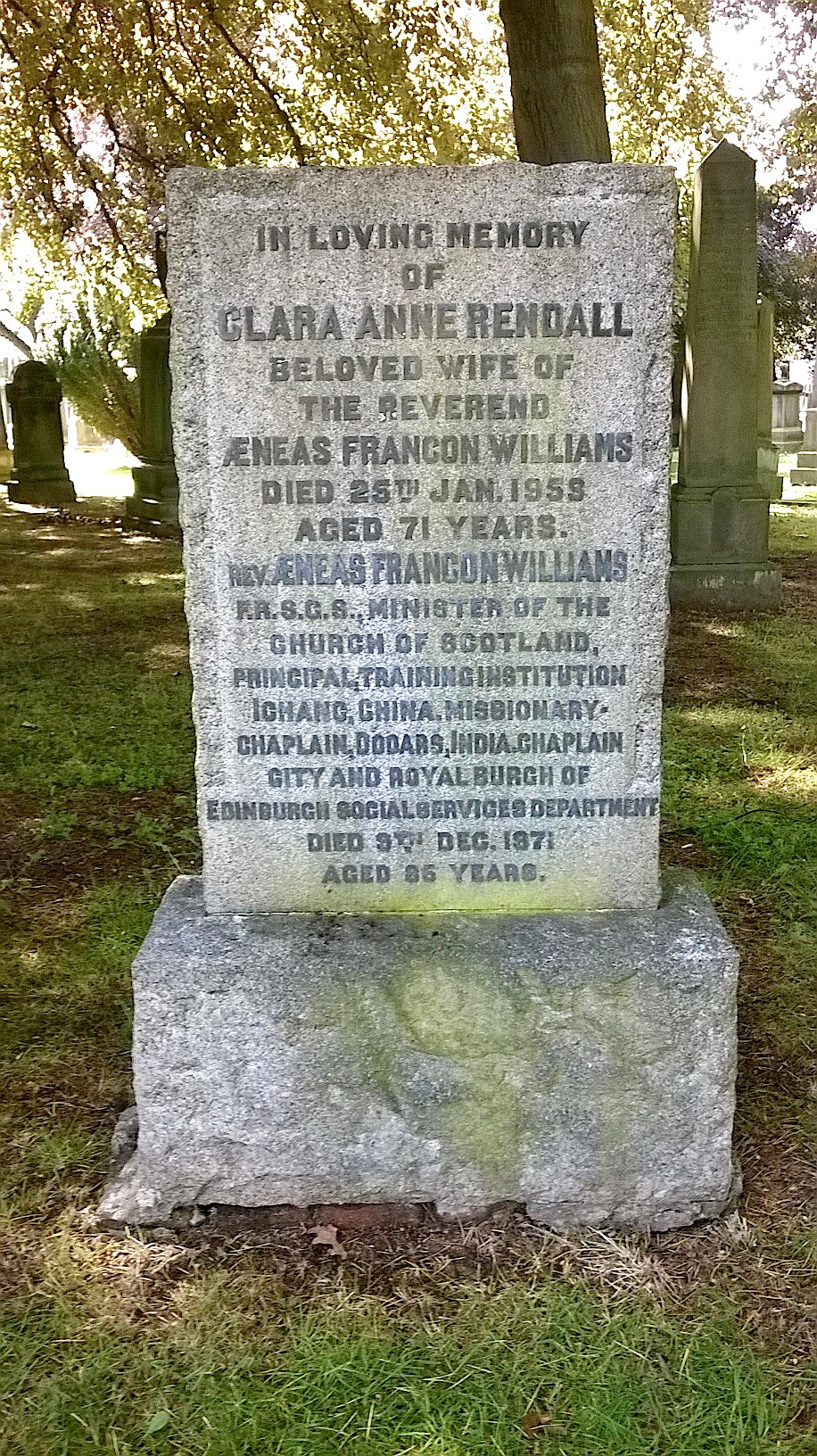 Dean Cemetery - Wikipedia